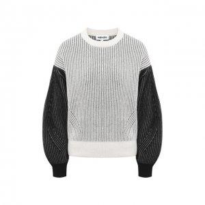 Шерстяной свитер Kenzo. Цвет: чёрно-белый