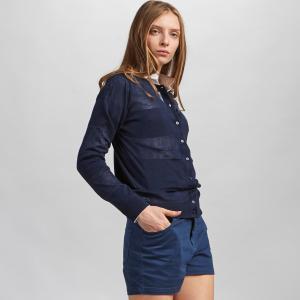 Пуловер Lacoste. Цвет: синий