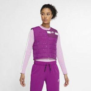 Женский беговой жилет Air - Пурпурный Nike