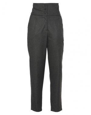 Повседневные брюки FRACOMINA. Цвет: стальной серый