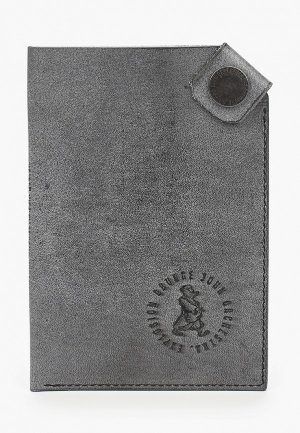 Обложка для паспорта GJO.E. Цвет: серый