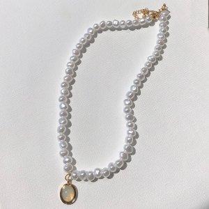 Ожерелье со стразами из искусственных жемчугов SHEIN. Цвет: многоцветный
