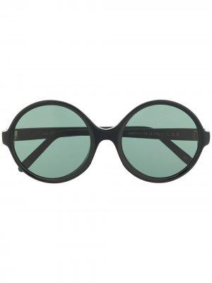Солнцезащитные очки Lalibela в круглой оправе L.G.R. Цвет: черный