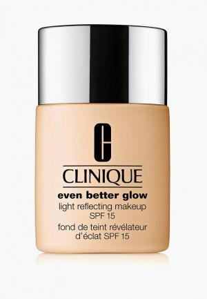 Тональный крем Clinique Even Better Glow Light Reflecting Makeup SPF 15, WN 12 Meringue, 30 мл.. Цвет: бежевый