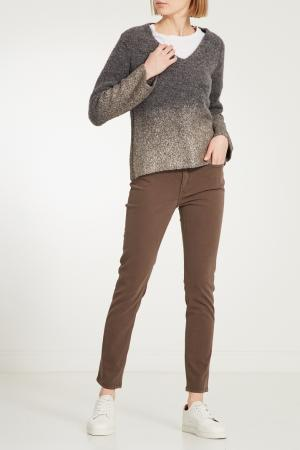 Серый шерстяной пуловер PANICALE