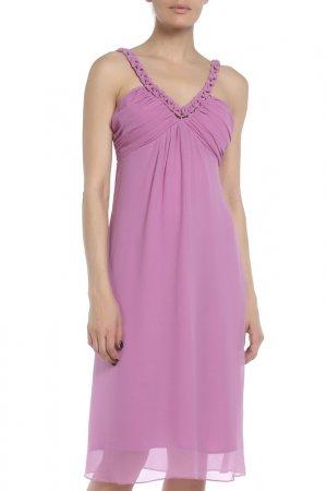 Платье Braude. Цвет: фиолетовый