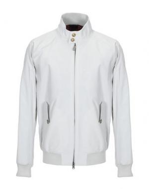 Куртка BARACUTA. Цвет: светло-серый