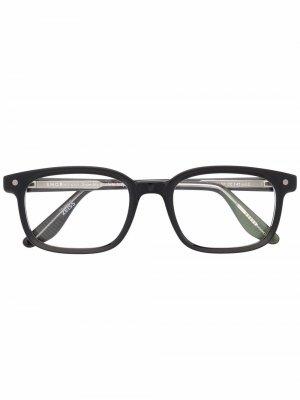 Солнцезащитные очки Willy Snob. Цвет: черный