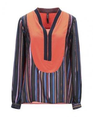Блузка PIANURASTUDIO. Цвет: оранжевый