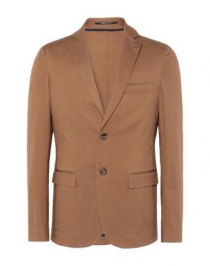 Пиджак 8 by YOOX. Цвет: коричневый