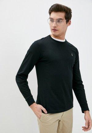 Лонгслив Polo Ralph Lauren. Цвет: черный