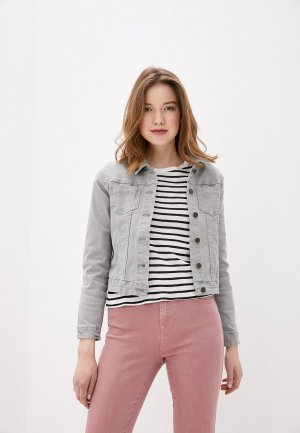 Куртка джинсовая Savage. Цвет: серый