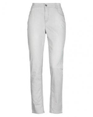 Джинсовые брюки GARDEUR. Цвет: светло-серый
