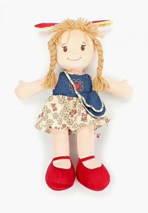 Игрушка мягкая Stip Кукла Лера. Цвет: бежевый