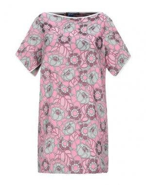 Короткое платье ANDREA TURCHI. Цвет: розовый