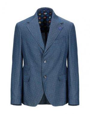 Пиджак JAKKE. Цвет: темно-синий