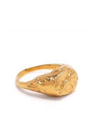 Перстень Taurus Alighieri. Цвет: золотистый