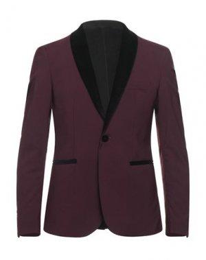 Пиджак I'M BRIAN. Цвет: баклажанный