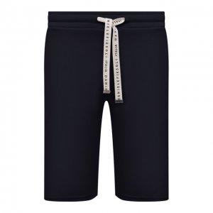 Хлопковые шорты Daniele Fiesoli. Цвет: синий