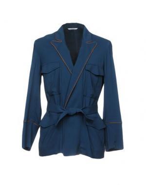 Пиджак UMIT BENAN. Цвет: цвет морской волны