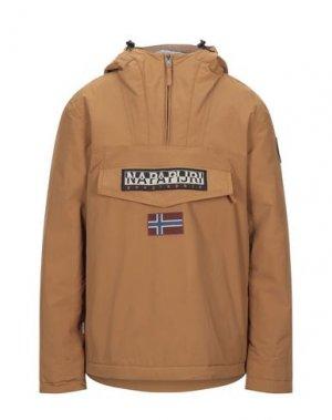 Куртка NAPAPIJRI. Цвет: коричневый