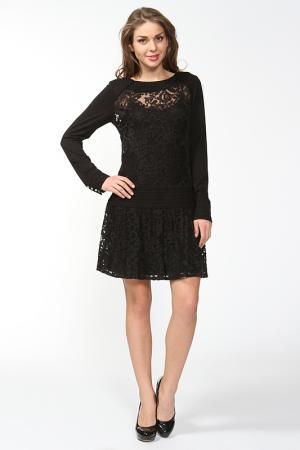 Платье AC Alba Conde. Цвет: черный