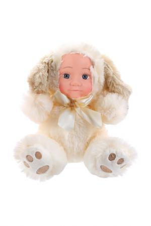 Игрушка Мой щенок Fluffy Family. Цвет: бежевый