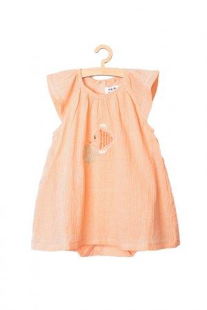 Боди для девочек 5.10.15.. Цвет: персиковый