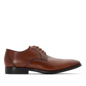 Ботинки-оксфорды кожаные Gilman Lace CLARKS. Цвет: каштан