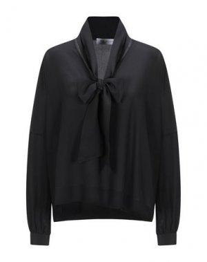 Блузка ANNA RACHELE. Цвет: черный