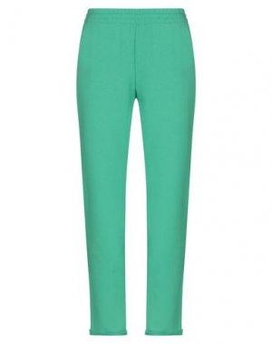 Повседневные брюки ALEXANDER TEREKHOV. Цвет: зеленый