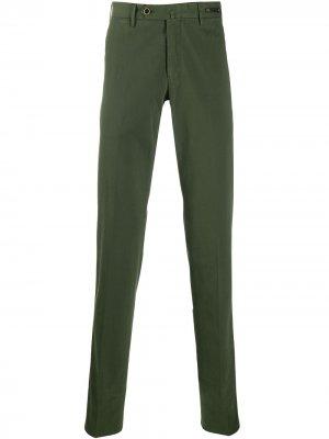 Классические брюки чинос Pt01. Цвет: зеленый