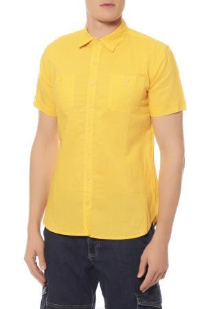 Сорочка Cerruti. Цвет: желтый