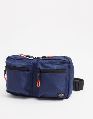 Темно-синяя сумка‑кошелек на пояс -Темно-синий Dickies