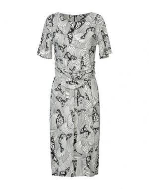 Платье до колена ISABEL DE PEDRO. Цвет: слоновая кость