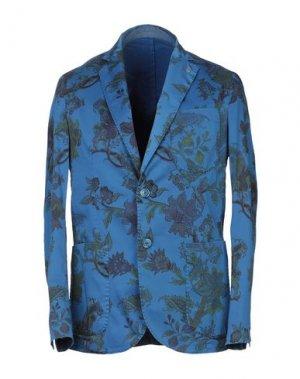 Пиджак FALKO ROSSO®. Цвет: бирюзовый