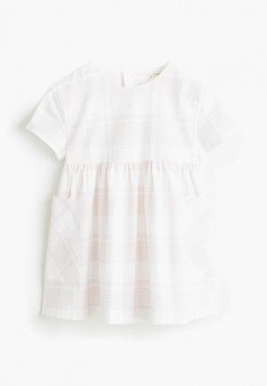 Платье Mango Kids - LIZZY. Цвет: белый