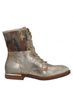 Полусапоги и высокие ботинки AIR STEP. Цвет: платиновый