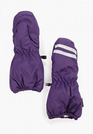 Варежки Huppa ROY. Цвет: фиолетовый