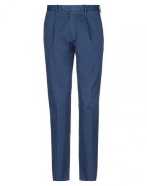 Повседневные брюки BOGLIOLI. Цвет: синий