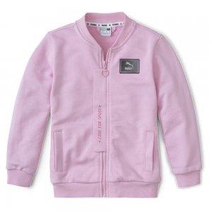 Детский бомбер x SEGA Bomber PUMA. Цвет: розовый