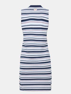 Платье EA7 Emporio Armani. Цвет: belyy
