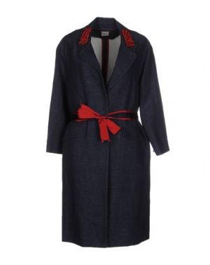 Легкое пальто ...À_LA_FOIS.... Цвет: синий