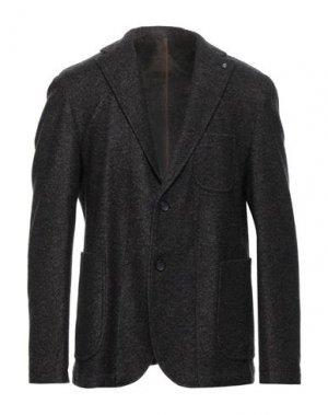 Пиджак BARBATI. Цвет: темно-синий