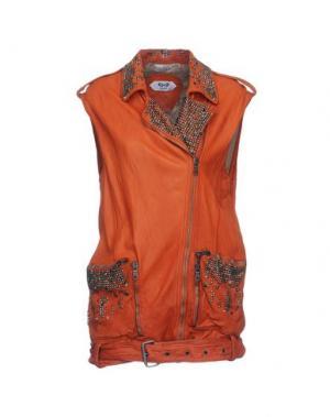 Куртка PIHAKAPI. Цвет: ржаво-коричневый