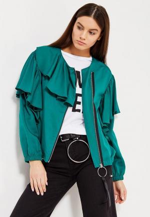 Куртка Mango - VALS. Цвет: зеленый