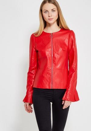 Куртка кожаная You&You. Цвет: красный
