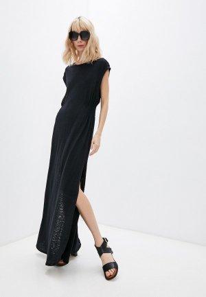Платье пляжное Vitamin A. Цвет: черный