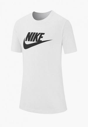 Футболка Nike SPORTSWEAR BIG KIDS (BOYS) T-SHIRT. Цвет: белый