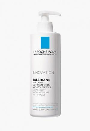 Гель для умывания La Roche-Posay TOLERIANE CARING WASH Очищающий, 400 мл.. Цвет: прозрачный